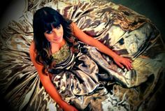 """Lea"""" Loved this dress I got to wear on set today..."""""""