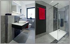 GroB Anthrazit Bad Mit Mosaik Interior Design 2015 Badezimmer Fliesen Design  Schwarz Weiß   Http:/