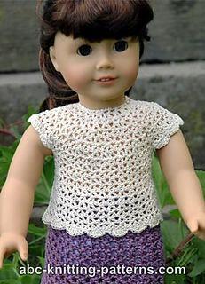 Free american girl doll summer dress pattern