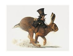 Large Fine Art Print - Uncl' LOUSE of HARE
