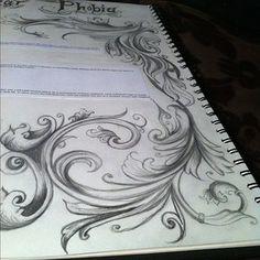 filigree tattoo idea