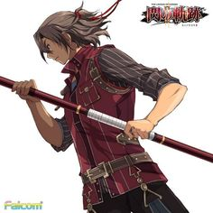 Gaius - Trails of Cold Steel Trails Of Cold Steel, The Legend Of Heroes, Video Game Characters, Manga Comics, Anime Style, Costume Design, Anime Guys, Game Art, Comic Art