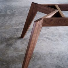 Vista St- Black Walnut @staple_design @designfarm_perth #australiandesign #furnituredesign #custommade #woodworking