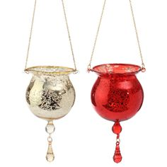 "The Jolly Christmas Shop - Raz 3.5"" Red or Gold Hanging Tealight Drop Antiqued Glass Christmas Ornament , $7.99 (https://www.thejollychristmasshop.com/raz-3-5-red-or-gold-hanging-tealight-drop-antiqued-glass-christmas-ornament/)"