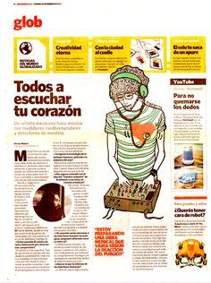 Diario Clarin Ilustration by Robertita Superstar www.robertita.com.ar