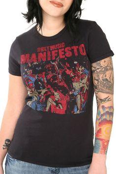Roxy music is awesome    Trunk Ltd Roxy Music 1979 Manifesto Girls T Shirt | eBay Roxy Music, Cool Outfits, Trunks, Crop Tops, Awesome, Girls, T Shirt, Ebay, Women