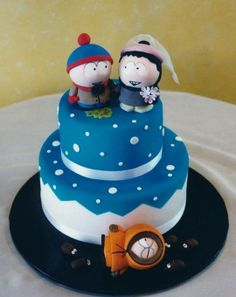South Park wedding cake