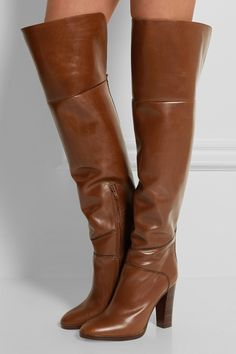 b7f4cfbf61dc3 16 Best Leather Over The Knee Boots images