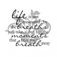 Life is not Measured... Light Box Insert