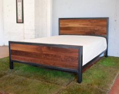 Single children's bed by PipingHotDesigns on Etsy