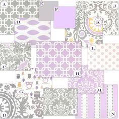 Lavender print options