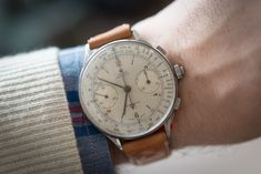 1940s Rolex reference 4113 // the only split-seconds chronograph Rolex ever made