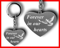 Some Love Quotes, Custom Lighters, Free Facebook Likes, Heart Keyring, Personalized Gifts For Her, Condolences, Easy Food To Make, Memorial Gifts, Custom Engraving