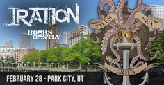 Iration is coming to Park City, UT February 28th with Stick Figure & Hours Eastly. Get Tickets and VIP Packages at http://jamp.to/c66478?jch=Pinterest