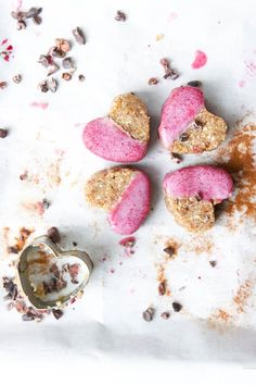 This Rawsome Vegan Life: GINGER COOKIES with PINK FROSTING (FOR JACK)