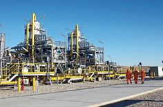 Industrial site of Turkmenistan's natural gas collection, Source: http://www.turkmenistaninfo.ru/?page_id=6&type=article&elem_id=page_6/magazine_119/1047&lang_id=en