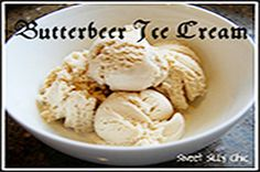 Butterbeer Ice Cream...now I just need an ice cream maker