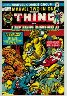Marvel Two-in-One 4 (VF+ 8.5)