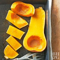 Before roasting, coat butternut squash with maple syrup, butter, and bourbon for a mouthwatering sweet glaze. Now that's one way to make vegetables intoxicatingly delicious!