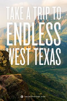 Road Trip through West Texas.