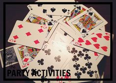 entertainment for roaring 20s {say goodbye to the roaring 20s} party -Games: If you're hosting a game night, like I did, set up a few tables around your party space with various games. Dominos, Yahtzee and Bunco were all games that gained popularity in the 20s. Card games like poker, black jack or Canasta are perfect for this theme too.
