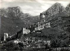 Sabbionara D'Avio (Trento) Castello Castelbarco Cartolina viaggiata, 1966