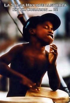 Future Timbero, Cuba... the kid is into the rhythm...