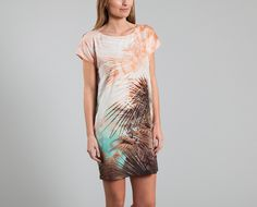Virginie Castaway Print Savane Legend Dress on sale at L'Exception