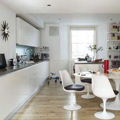 Küchen Küchenideen Küchengeräte Wohnideen Möbel Dekoration Decoration Living Idea Interiors home kitchen - Moderne weiße Küche