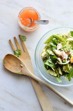 A Cozinha da Ovelha Negra: Salada verde agridoce