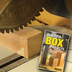 """Sign up to receive our Free monthly ShopNEWS woodworking newsletter and we'll send you a link to download our 45 page """"Beautiful Box Projects"""" eBOOK"""