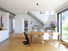 Essbereich: skandinavische Esszimmer von gondesen architekt Modern, Desk, Furniture, Home Decor, Scandinavian Dining Rooms, Detached House, Ad Home, Architecture, Projects