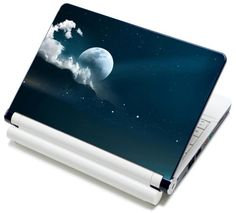 "Meffort Inc® 15 15.6 Inch Laptop Notebook Skin Sticker Cover Art Decal - Fits 13.3"" 14"" 15"" 16"" HP Dell Lenovo Asus Compaq Asus Acer Computers (Free Wrist Pad) (Full Moon Night Sky) Meffort Inc http://www.amazon.com/dp/B00419VNQQ/ref=cm_sw_r_pi_dp_8ElIub0QVJZTF"
