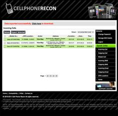 Cell Phone Recon Mobile Cell Phone Tracking And Cell Phone Monitoring Device