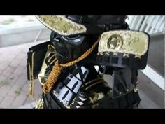 Home made Yoroi Samurai Armor - YouTube