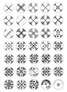 Enlace Mapuche Internacional/Español Nosotros Tattoo Hals, I Tattoo, Tribal Art, Geometric Art, Aboriginal Art, Ancient Art, Indian Art, Sacred Geometry, Runes