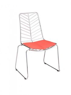 Ordinaire Spine Chair | Red | Modern Furniture U2022 Brickell Collection