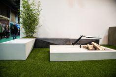 Messeauftritt #Blühendes Österreich in Wels-Concreto Outdoor Sectional, Sectional Sofa, Outdoor Furniture, Outdoor Decor, Concrete, Cool Stuff, Design, Home Decor, Wels