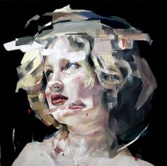 We wont destroy you by Benjamin Garcia, via Behance #painting #woman #girl #layers