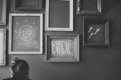 i want a chalkboard wall now | Flickr - Photo Sharing!