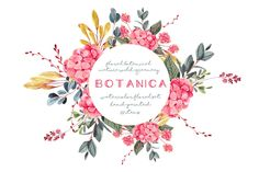 GET IT WHILE IT'S FREE! -  Deal ends on Jan, 22nd 2018 -  Botanica - watercolor set by Charushella on @creativemarket