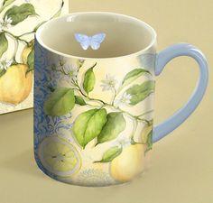 Fresh Lemons Coffee Mug , 5021057 | Lang