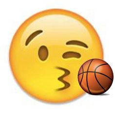 Basketball emoji