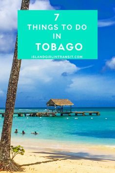 #Travel - Things do to In Tobago