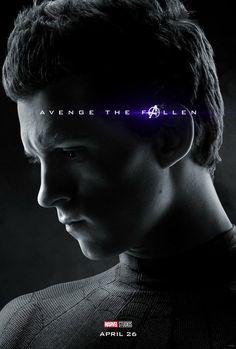 Avengers: End Game, Peter Parker, Spider Man, Marvel Universe, Movie Poster Wall Art Home Decor Superhero Print