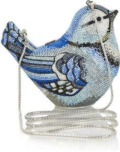 ShopStyle: Judith Leiber Spring Fling fine crystal-embellished clutch