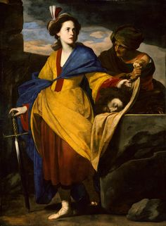 Judith with the Head of Holofernes - Artist: Massimo Stanzione (Italian, Neapolitan, 1585–1656) - Date: ca. 1640 -  Medium: Oil on canvas