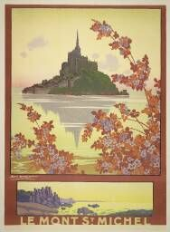 #MontSaintMichel  Le Mont St-Michel / Geo Dorival. [s.n.], - (Imp. Cornille & Serre, 19, R. du Terrage, Paris)., Sans date.