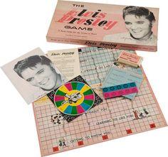 Elvis Presley Board Game c.1957
