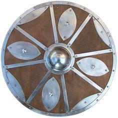 Viking Shield ~ an easier shield design Viking Armor, Viking Shield, Vikings, Norway Viking, Viking Culture, Viking Life, Shield Design, Beowulf, Shield Maiden